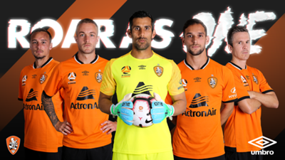 Brisbane Roar 2018/19 kit
