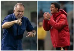 Mano Menezes Maurício Barbieri Flamengo Cruzeiro Copa Libertadores