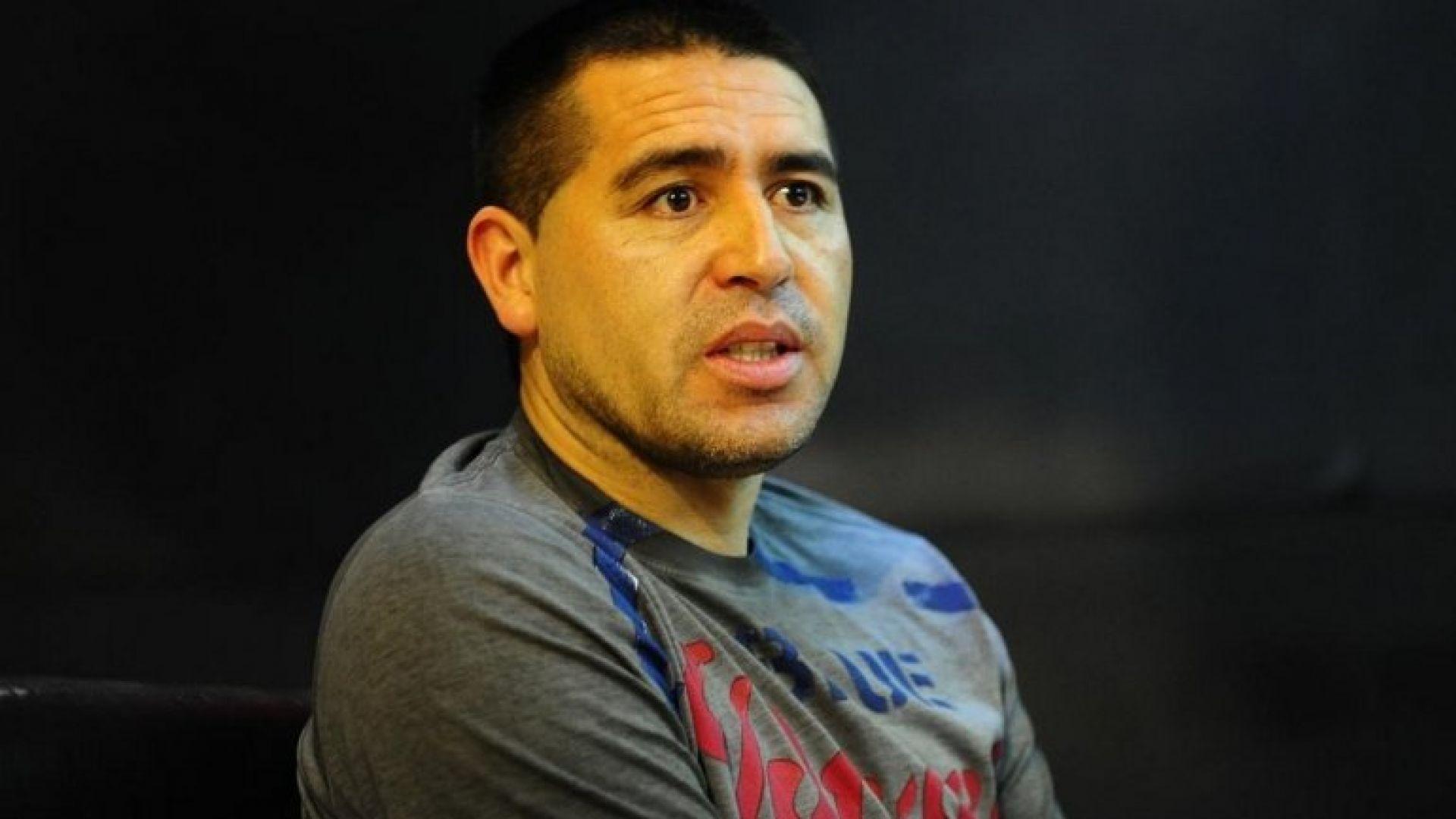 Juan Roman Riquelme 2018