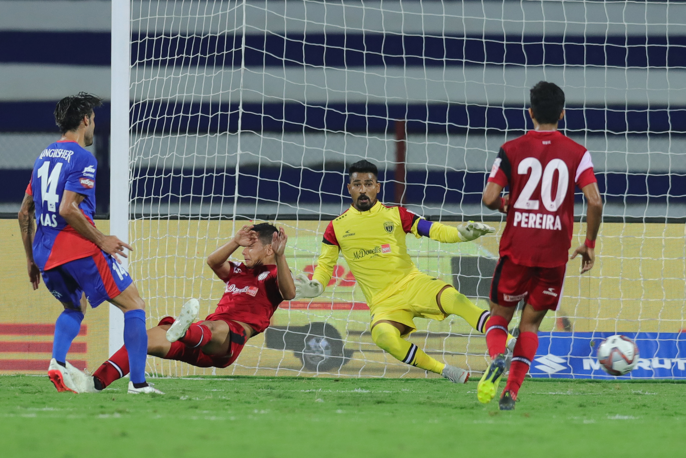 Dimas Delgado goal Bengaluru NorthEast United