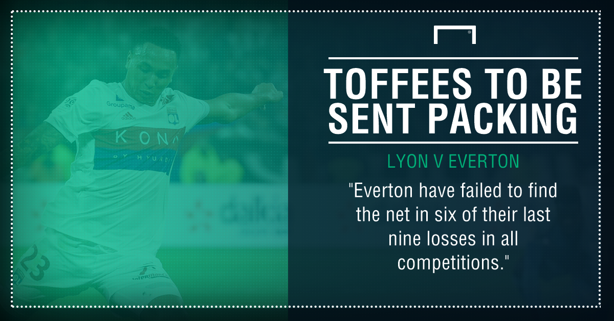 Lyon Everton graphic