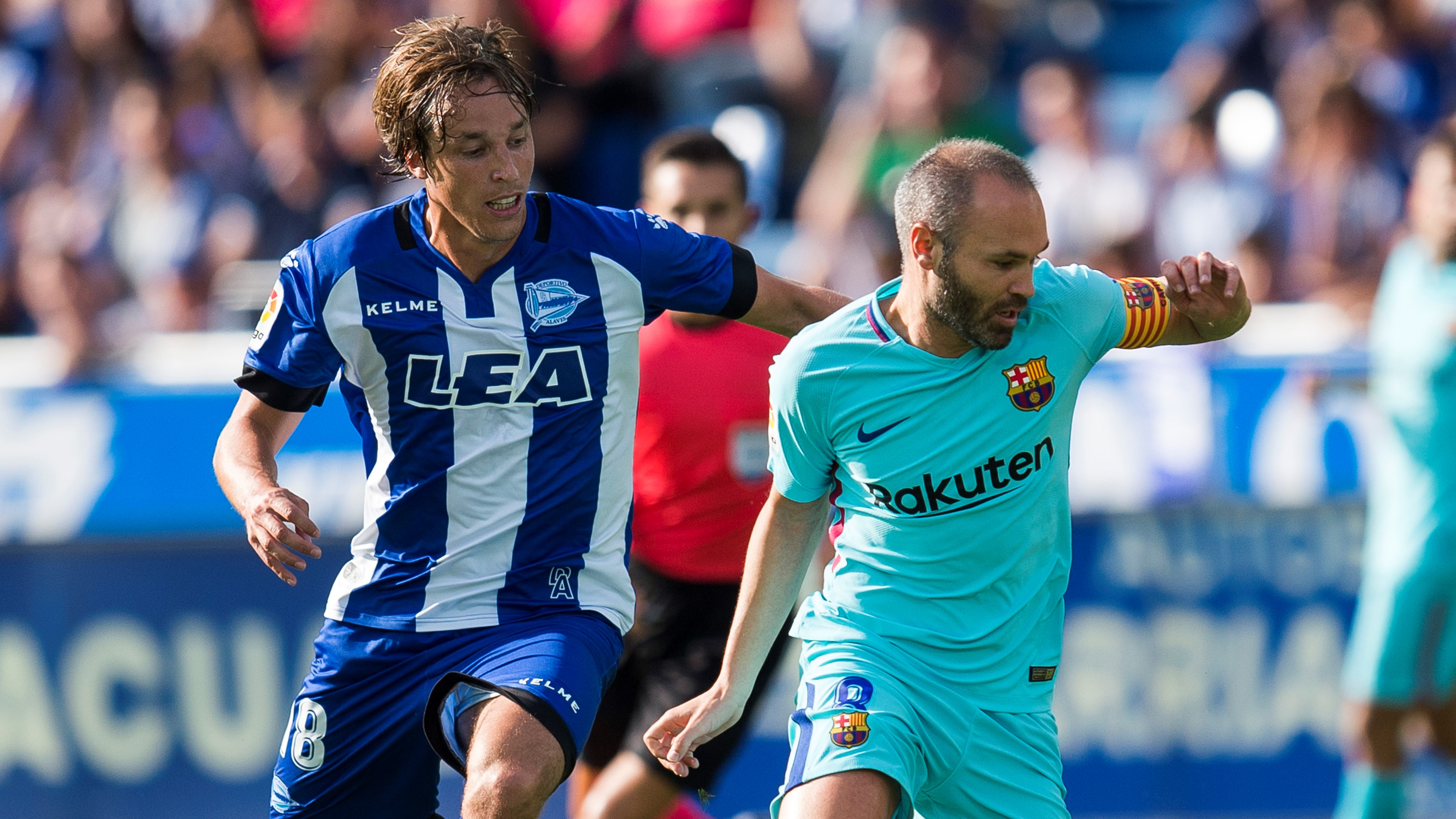 Andres Iniesta Tomas Pina Alavés Barcelona LaLiga 26082017