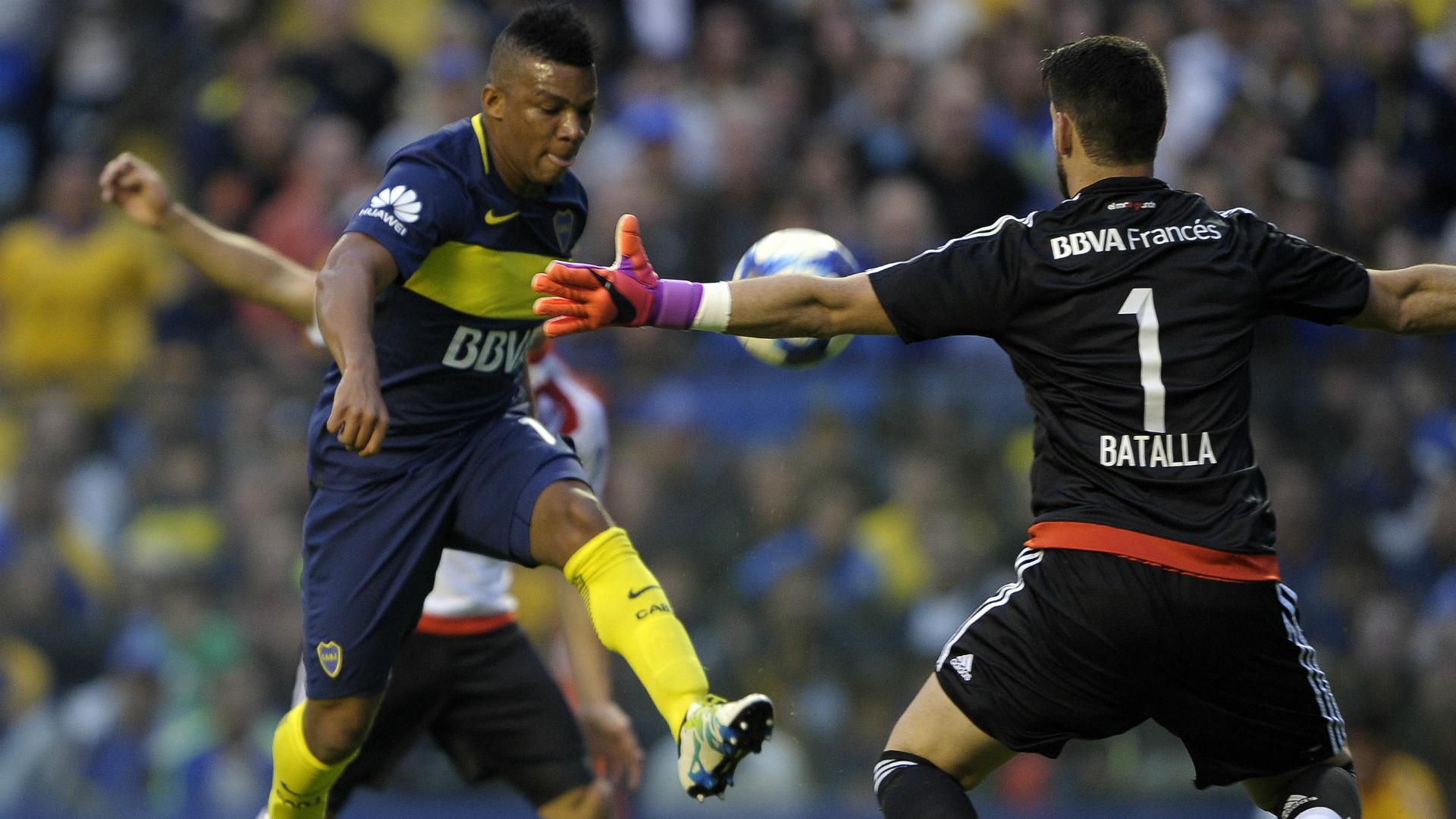 Frank Fabra Augusto Batalla Boca Juniors Primera Division Argentina 14052017
