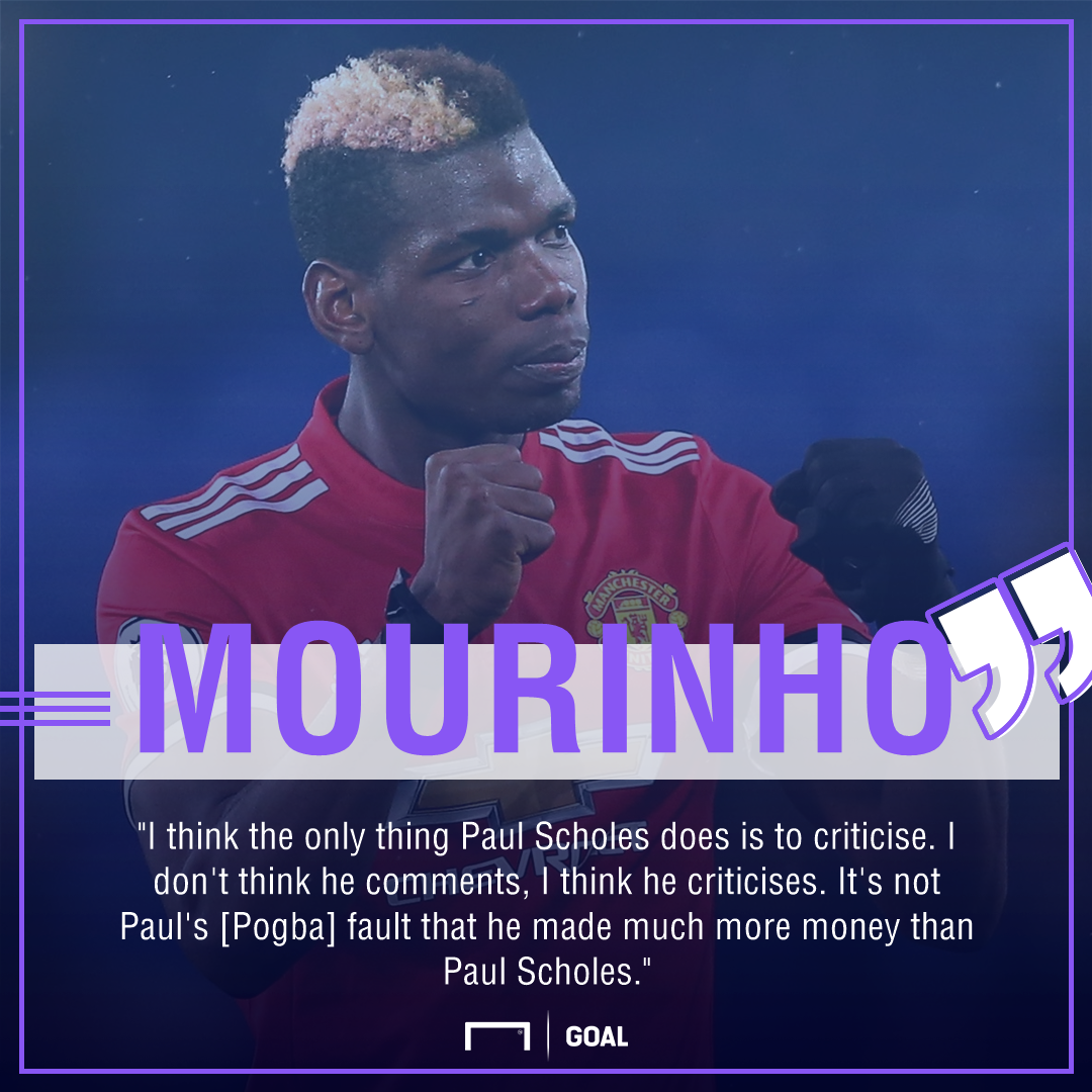 'Pogba doesn't look fit' says Paul Scholes following Manchester United stalemate