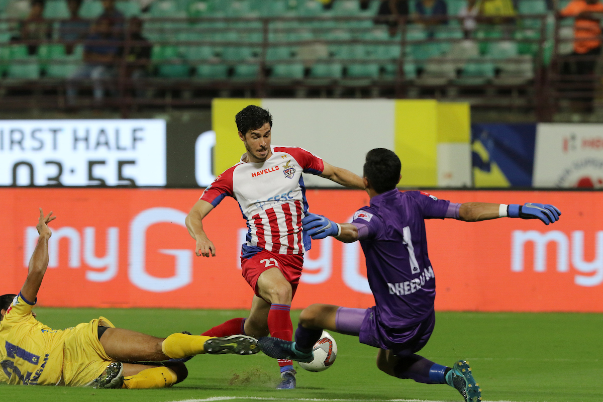 ATK vs Kerala Blasters Edu Garcia Dheeraj