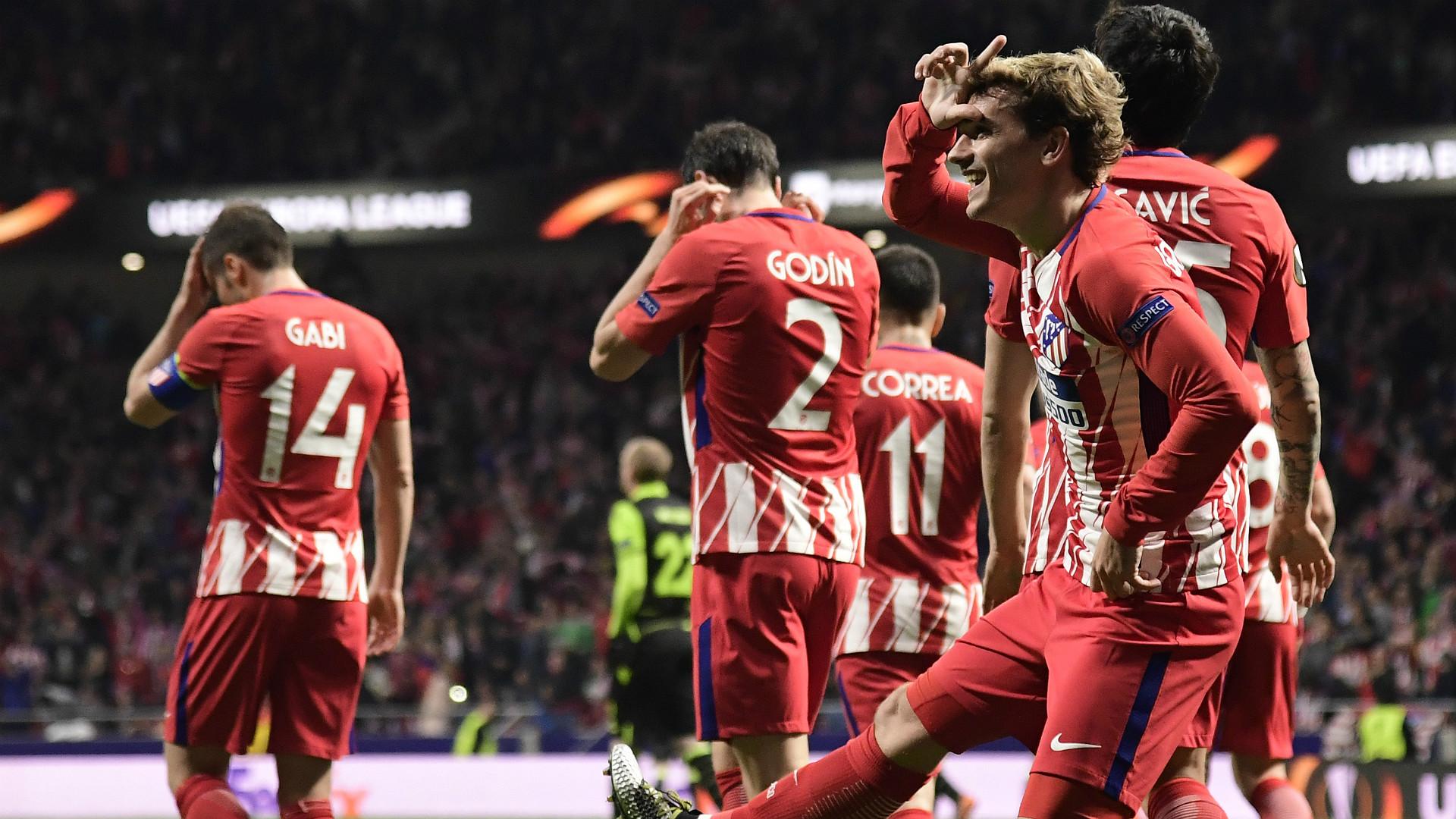 Antoine Griezmann Atletico Madrid Fortnite celebration