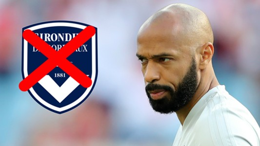 Thierry Henry Bordeaux
