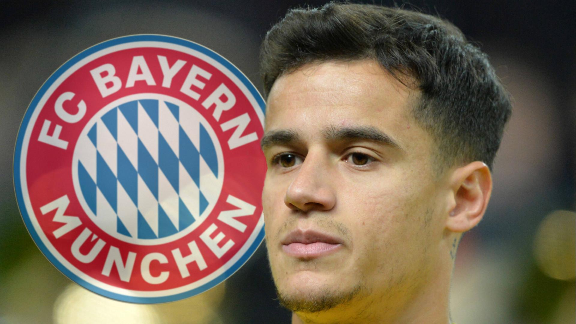 ONLY GERMANY Coutinho Bayern Munchen