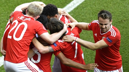 Wales Celebrate Northern Ireland