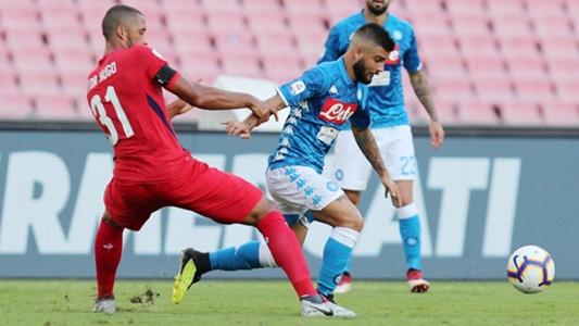 Vitor Hugo Insigne Napoli Fiorentina Serie A