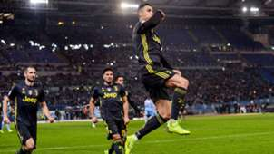 GERMANY ONLY Cristiano Ronaldo Jubel Juventus Turin Serie A Lazio 0119