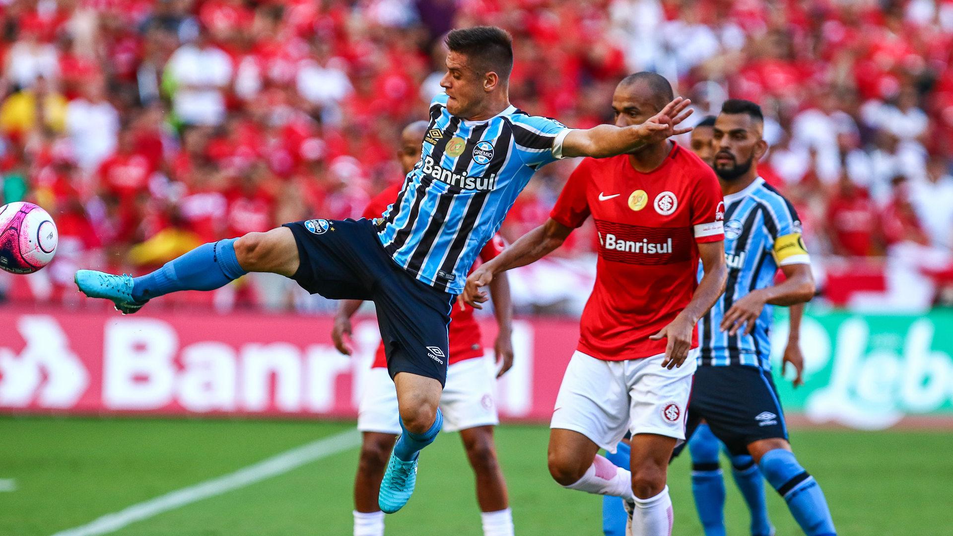 Roger Ramiro Internacional Gremio 11032018 Gaucho (Foto  Lucas Uebel Grêmio  Divulgação) bf0d8f5cf9e27