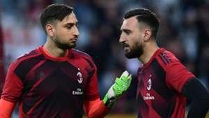 Gianluigi Donnarumma Antonio Donnarumma AC Milan 2018