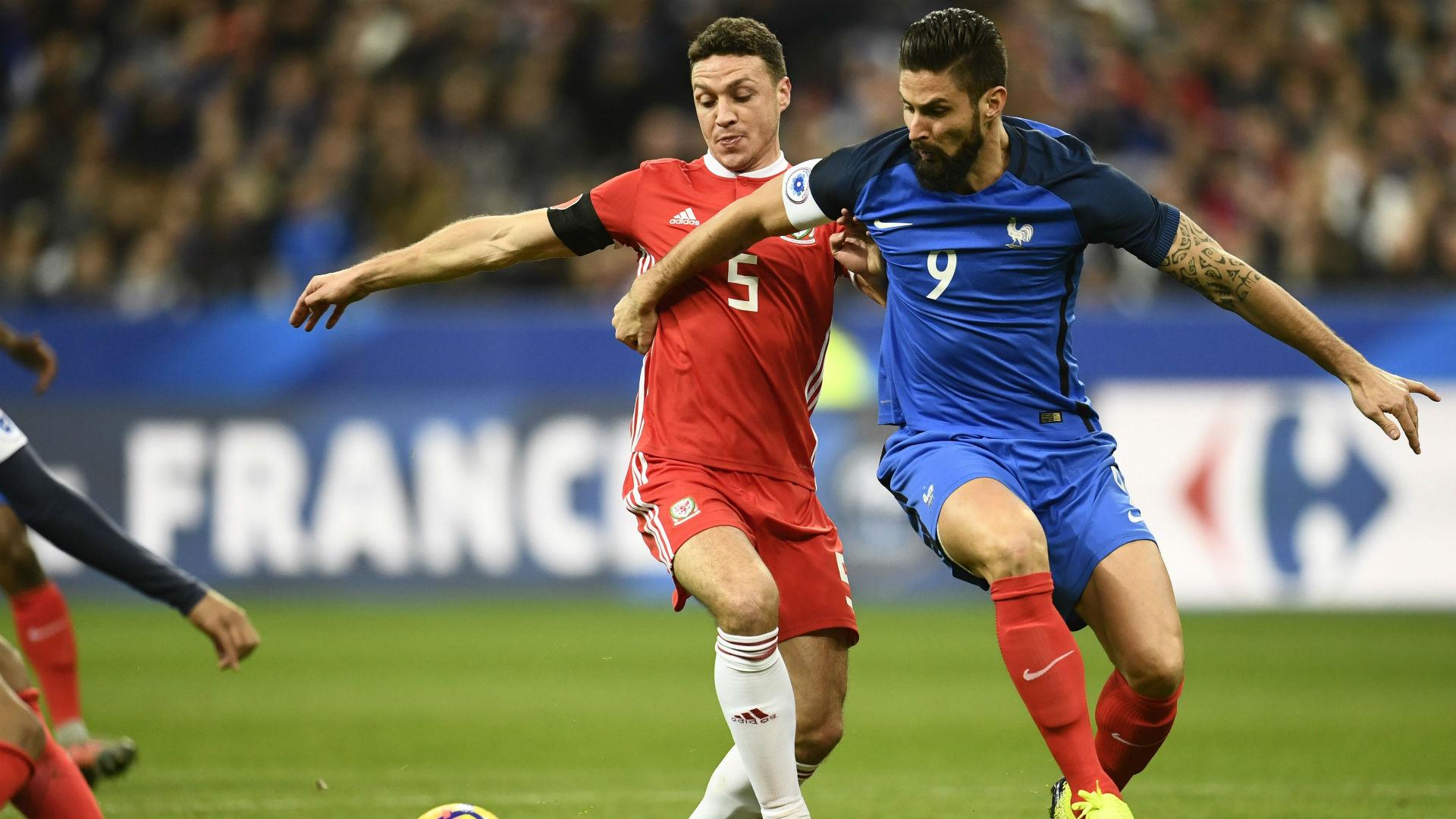 Olivier Giroud France Wales