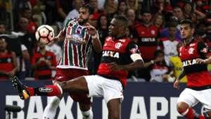 Juan Henrique Dourado Flamengo Fluminense Copa Sudamericana 01112017