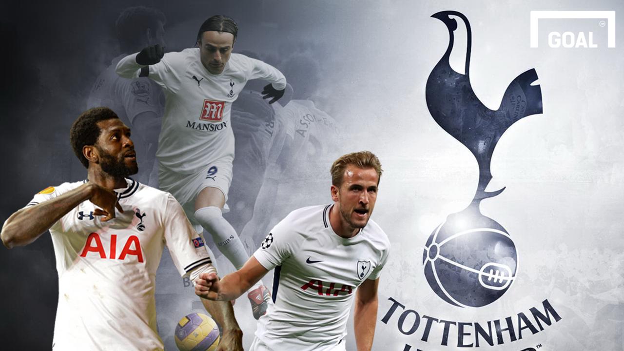 Ranking every Tottenham striker GFX