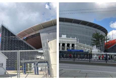 Ekaterinbourg, son stade atypique et le Pérou : deuxième étape des Bleus en Russie