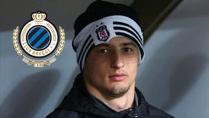 Matej Mitrovic Besiktas Club Brugge