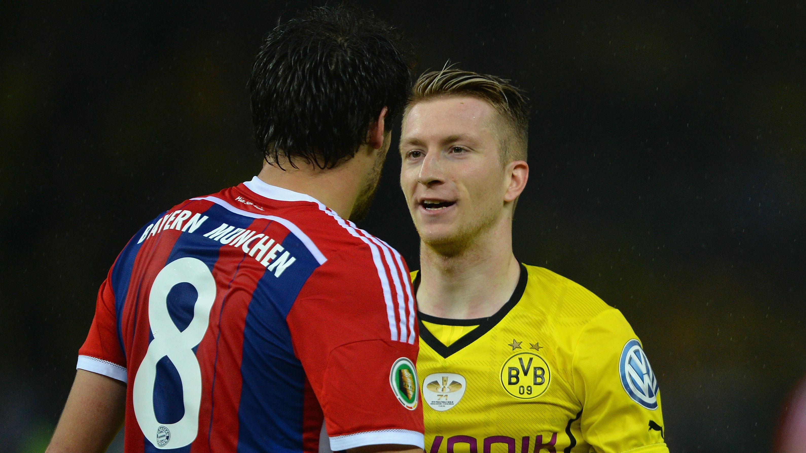 Javi Martinez Marco Reus Bayern BVB