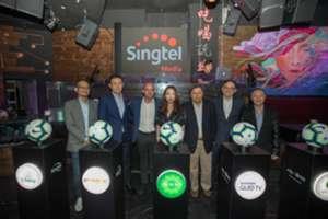Danny Murphy with Singtel TV