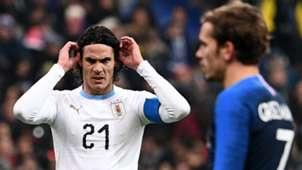 Edinson Cavani France Uruguay Friendly 20112018