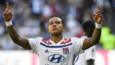 Memphis Depay Lyon Amiens Ligue 1 12082018