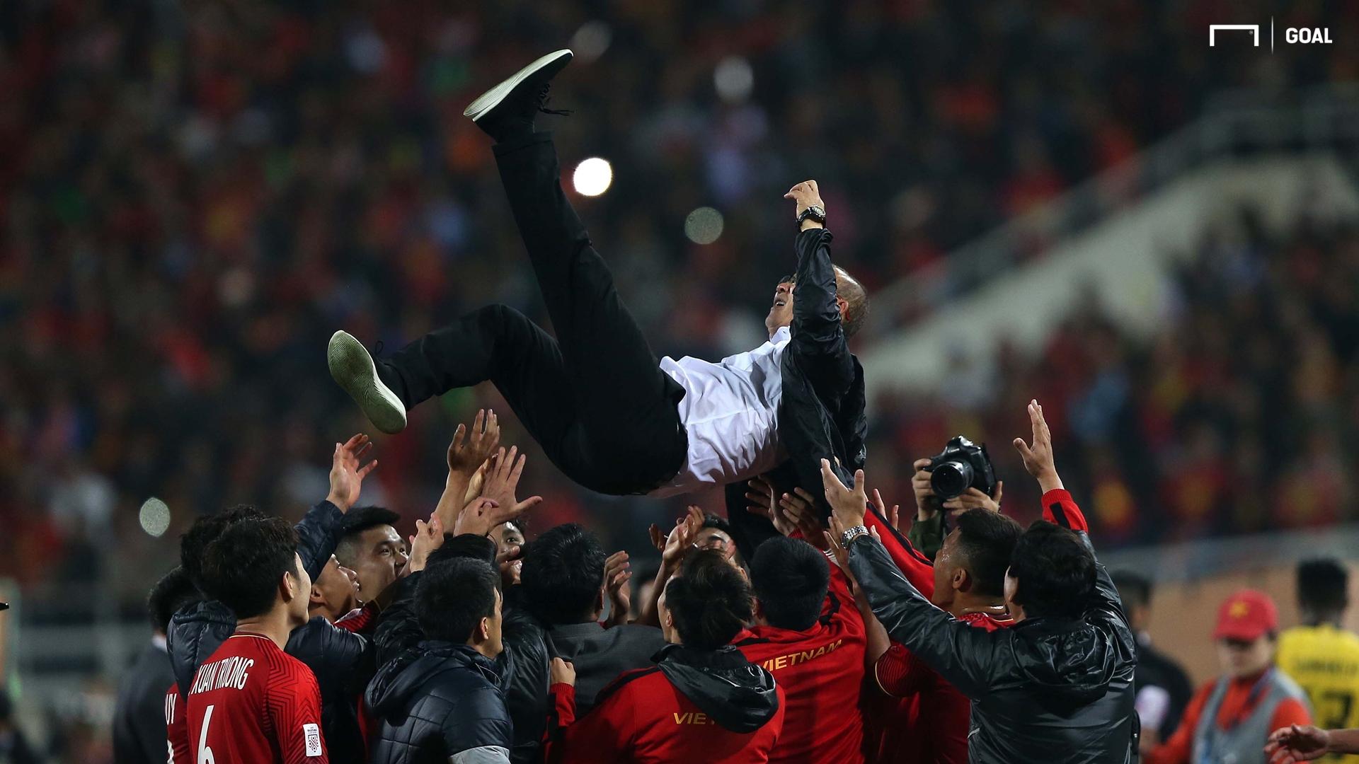 Park Hang Seo Vietnam Malaysia AFF Cup 2018 Final