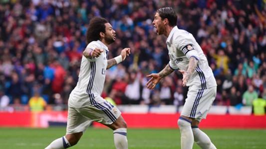 Marcelo Sergio Ramos Real Madrid Valencia LaLiga 29042017