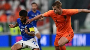 Lorenzo Insigne Matthijs De Ligt Italy Netherlands