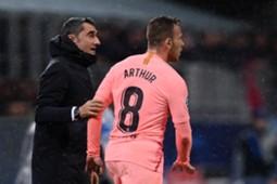 ARTHUR INTER BARCELONA CHAMPIONS LEAGUE