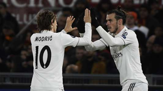 Gareth Bale Luka Modric Roma Real Madrid UCL 27112018