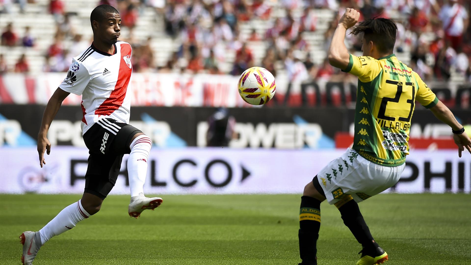 De La Cruz River Plate Aldosivi Superliga 27102018