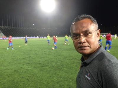 Petaling Jaya Rangers head coach Mat Zan Mat Aris 2017
