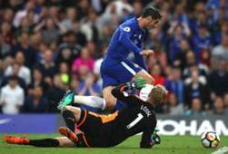 Alvaro Morata Chelsea Huddersfield Town Premier Leatue