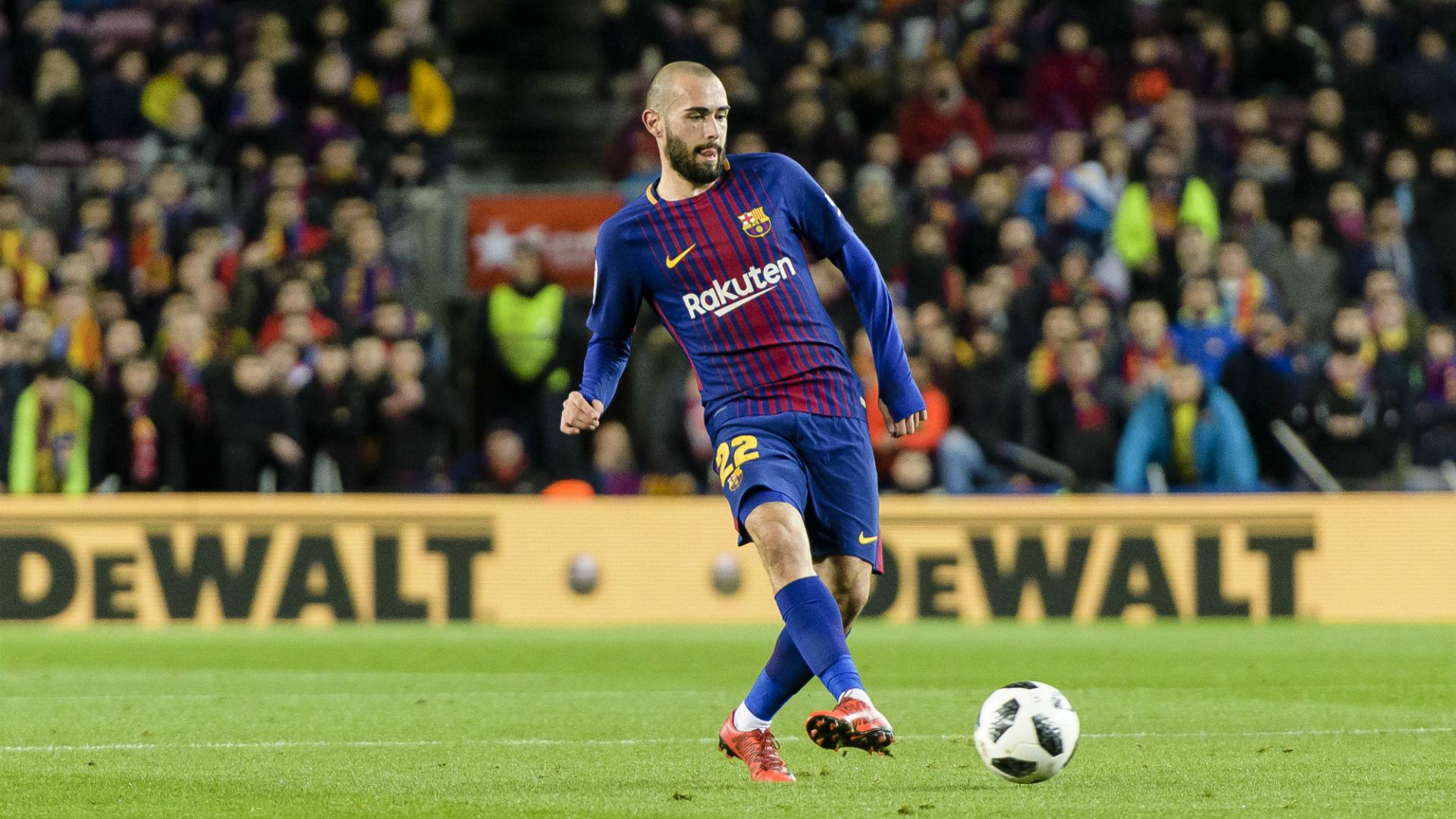 Aleix Vidal FC Barcelona Saison 2017/18