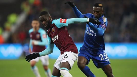 Leicester West Ham Premier League 11242017