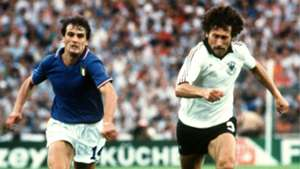 Marco Tardelli Paul Breitner Italy West Germany 11071982