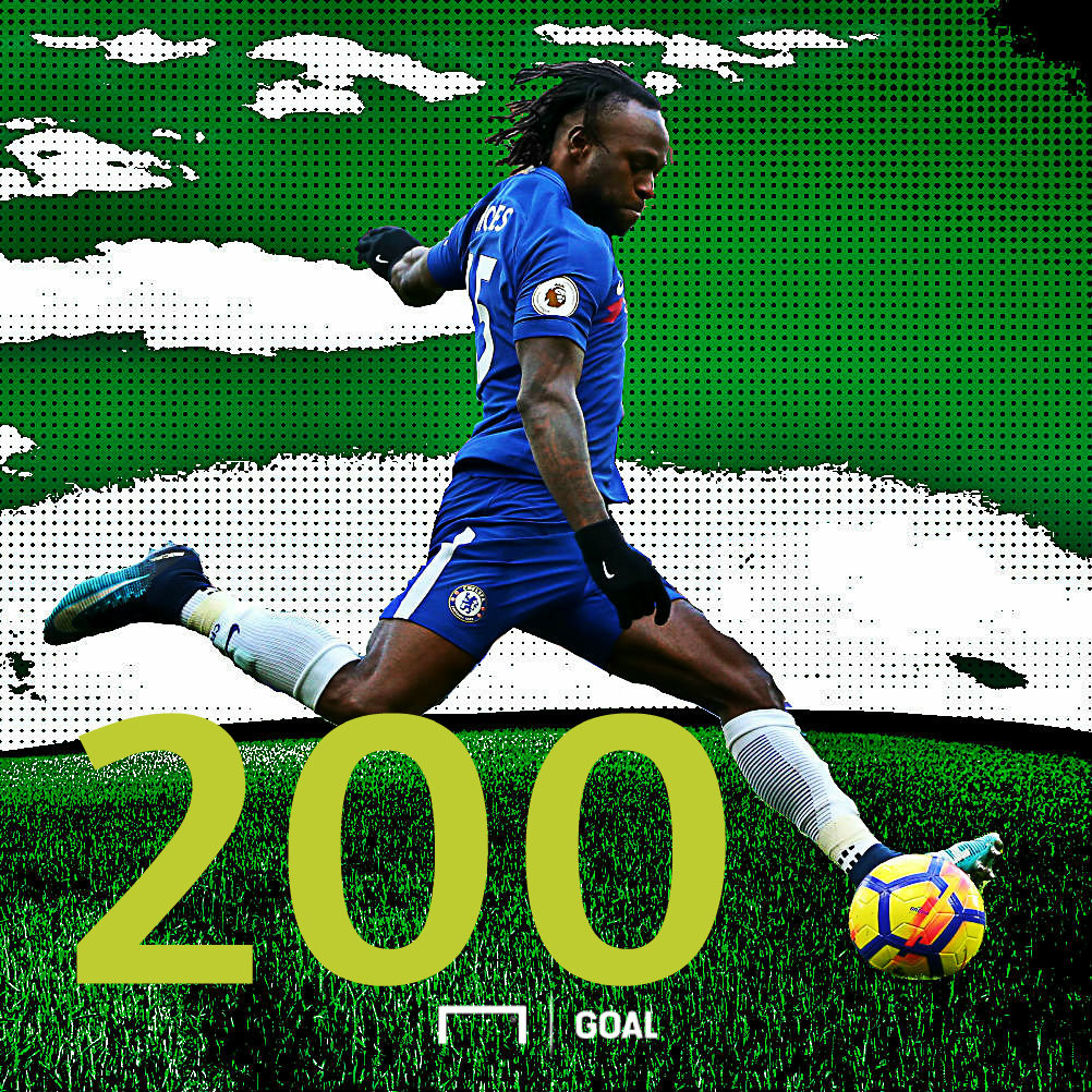 Moses reaches 200