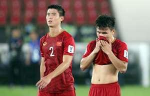 Quang Hải Duy Mạnh Việt Nam Iraq Asian Cup 2019