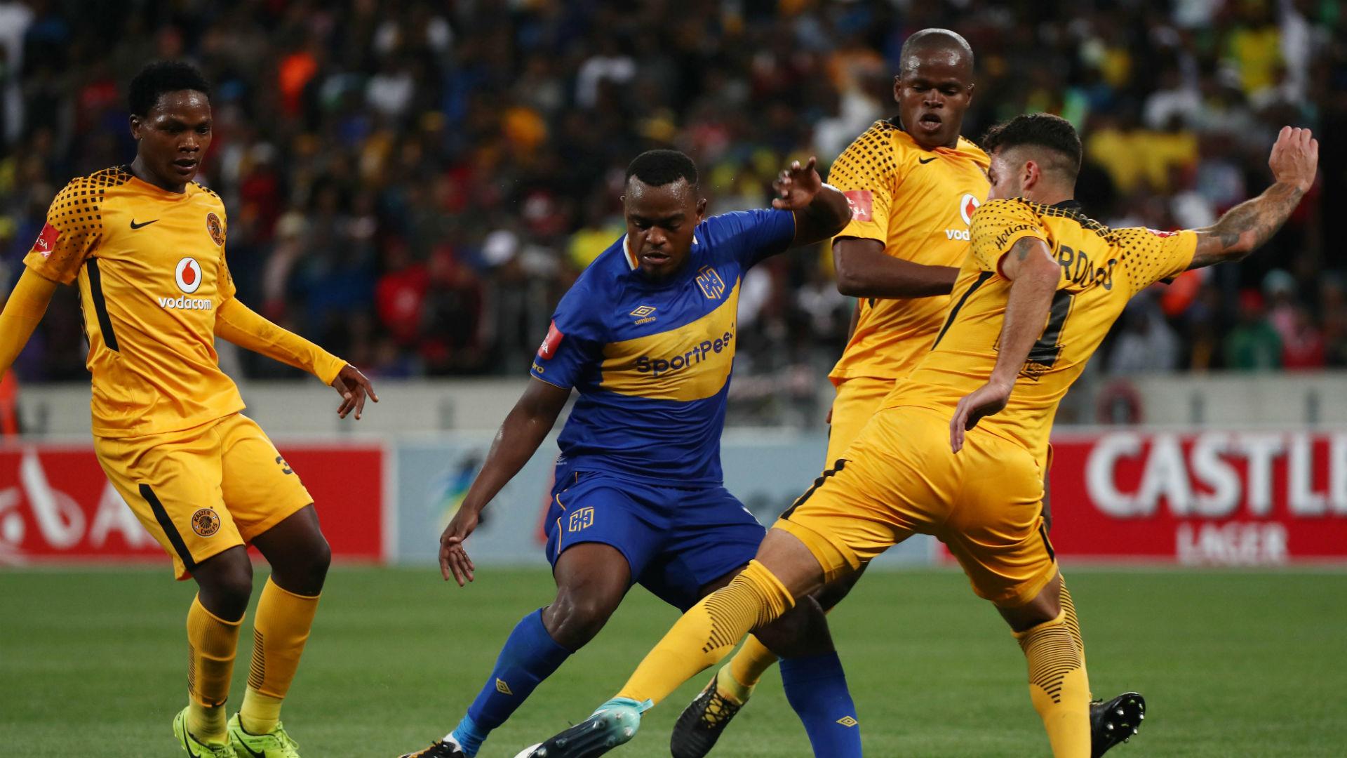 Kaizer Chiefs, Wiseman Meyiwa, Daniel Cardoso & Willard Katsande & Cape Town City, Ayanda Patosi
