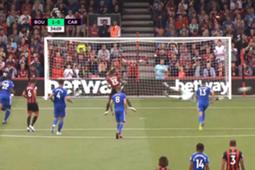 Neil Etheridge penalty save Bournemout vs Cardiff City Premier League 2018-19