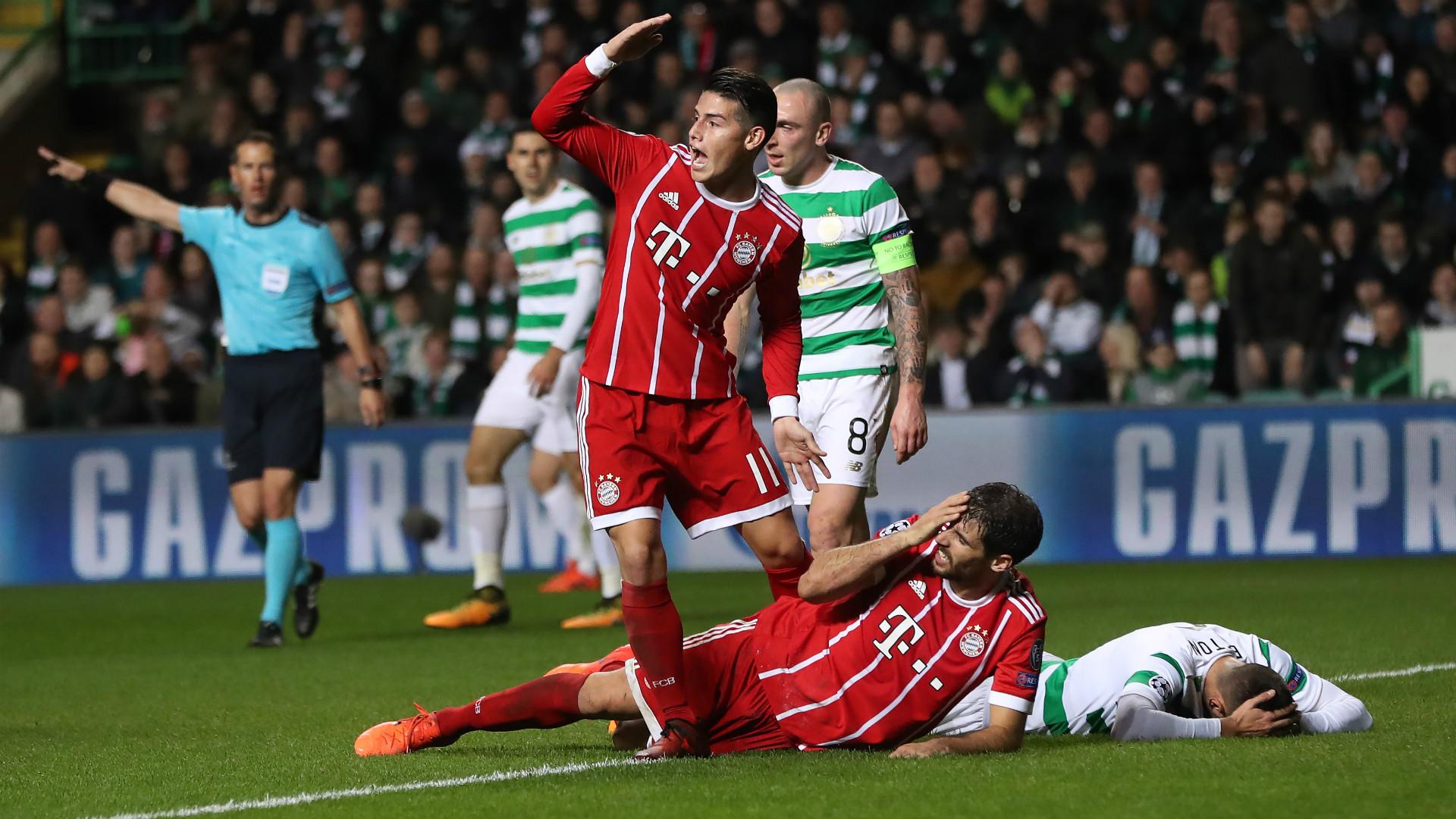 Javi Martinez Celtic Bayern Munchen Champions League 311017