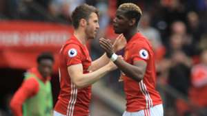 Paul Pogba Michael Carrick Manchester United Crystal Palace 052117