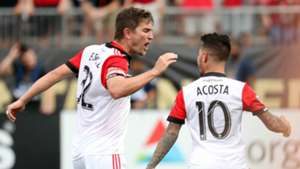 Bobby Boswell Luciano Acosta D.C. United