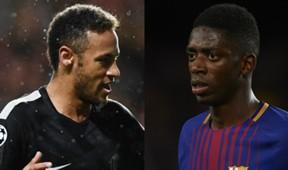 Ousmane Dembele Neymar Split