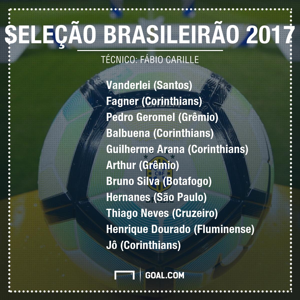 Seleção Brasileirão PS - 5/12/2017