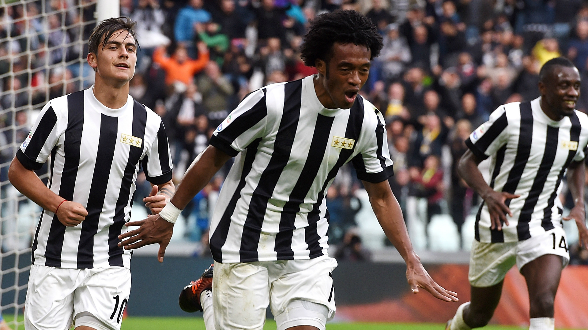 Cuadrado Juventus Benevento Serie A