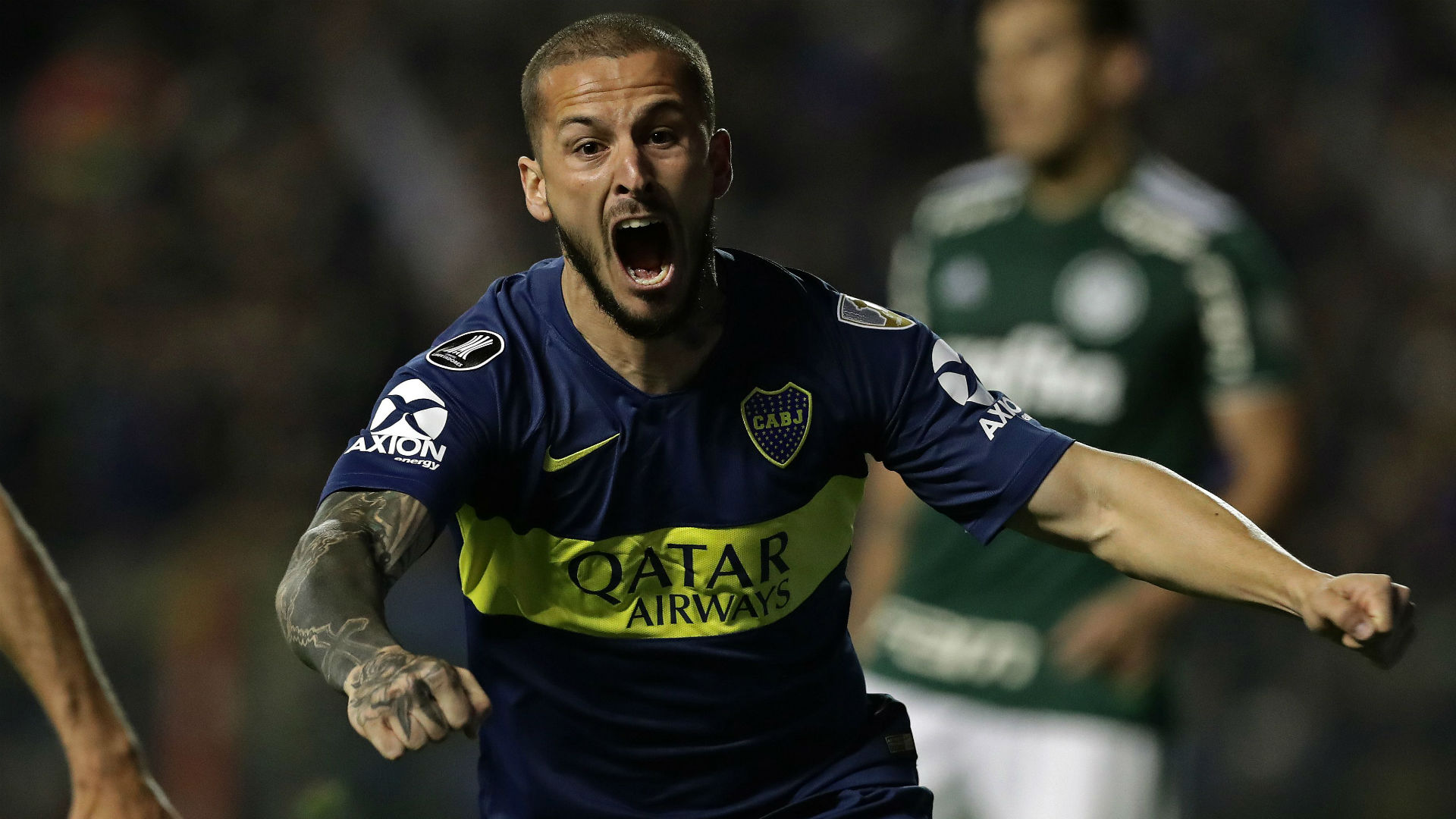 Dario Benedetto Boca Palmeiras Copa Libertadores Semifinal Ida 24102018