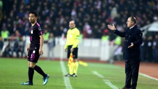 Yuto Nagatomo Fatih Terim Galatasaray 02042018