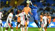 Uganda keeper Benjamin Ochan.